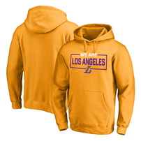 Los Angeles Lakers Fanatics Branded We Are Iconic Collection Pullover Hoodie – Gold