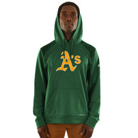 Oakland Athletics Majestic Armour Poly Fleece Pullover Hoodie – Green