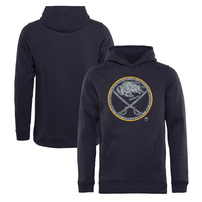 Buffalo Sabres Fanatics Branded Youth Static Logo Pullover Hoodie - Navy