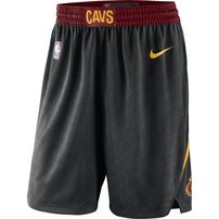 Cleveland Cavaliers Nike 2018/19 Statement Edition Swingman Shorts - Black