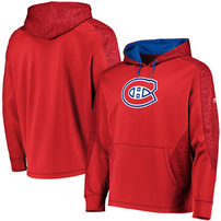 Montreal Canadiens Majestic Armor Therma Base Pullover Hoodie – Red/Blue