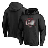 Houston Texans NFL Pro Line by Fanatics Branded Arch Smoke Pullover Hoodie - Black