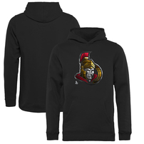 Ottawa Senators Fanatics Branded Youth Midnight Mascot Pullover Hoodie - Black