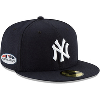 New York Yankees New Era 2018 Postseason Side Patch 59FIFTY Fitted Hat – Navy