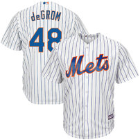 Jacob deGrom New York Mets Majestic Cool Base Player Jersey - White