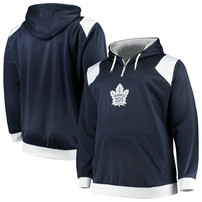 Toronto Maple Leafs Majestic Big & Tall Fleece Hoodie – Blue/White