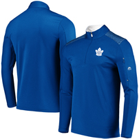 Toronto Maple Leafs Majestic Ultra-Streak Cool Base Half-Zip Pullover Jacket – Blue/White