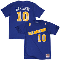 Tim Hardaway Golden State Warriors Mitchell & Ness Hardwood Classics Name & Number T-Shirt - Royal