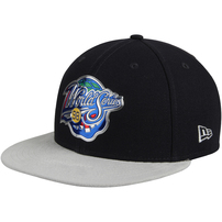 New York Yankees New Era 1998 World Series Championship Collection 9FIFTY Adjustable Snapback Hat - Navy/Gray
