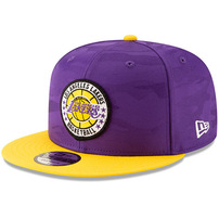 Los Angeles Lakers New Era 2018 Tip-Off Series Two-Tone 9FIFTY Adjustable Hat – Purple/Gold
