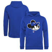 New York Rangers Fanatics Branded Youth Disney Game Face Pullover Hoodie – Blue