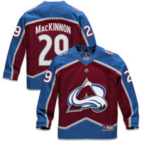 Nathan MacKinnon Colorado Avalanche Fanatics Branded Youth Replica Player Jersey – Burgundy