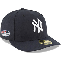 New York Yankees New Era 2018 Postseason Side Patch Low Profile 59FIFTY Fitted Hat – Navy