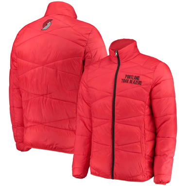 Portland Trail Blazers G-III Sports by Carl Banks Blitz Full-Zip Packable Jacket – Red