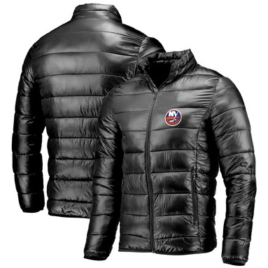 New York Islanders Fanatics Branded Polyester Puffer Jacket - Black