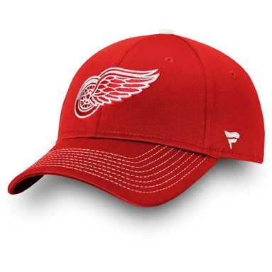 Detroit Red Wings Fanatics Branded Depth Alpha Adjustable Hat - Red