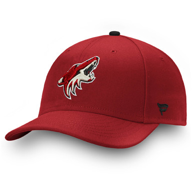Arizona Coyotes Fanatics Branded Power Play Fitted Hat – Garnet