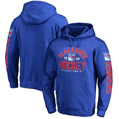 New York Rangers Hometown Collection Pullover Hoodie - Royal