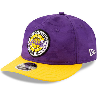 Los Angeles Lakers New Era 2018 Tip-Off Series Retro 9FIFTY Adjustable Hat – Purple