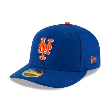 New York Mets New Era 2017 Authentic Collection On Field Low Profile 59FIFTY Fitted Hat - Royal/Orange