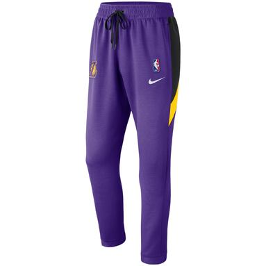 Los Angeles Lakers Nike Authentic Showtime Therma Flex Performance Pants - Purple