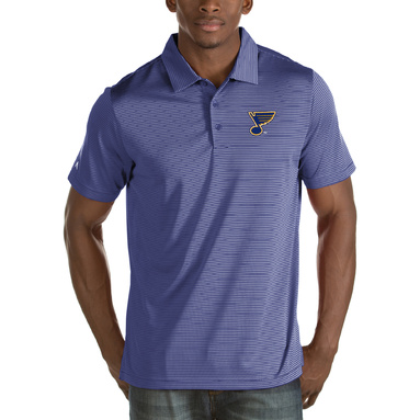 St. Louis Blues Antigua Quest Desert Dry Polo – Royal