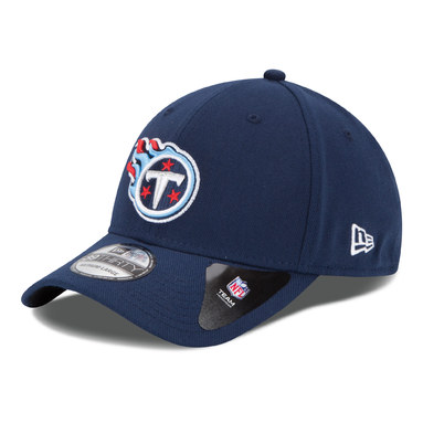 Tennessee Titans New Era 39THIRTY Team Classic Flex Hat - Navy Blue