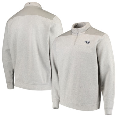 Los Angeles Rams Vineyard Vines Shep Shirt Quarter-Zip Jacket – Gray