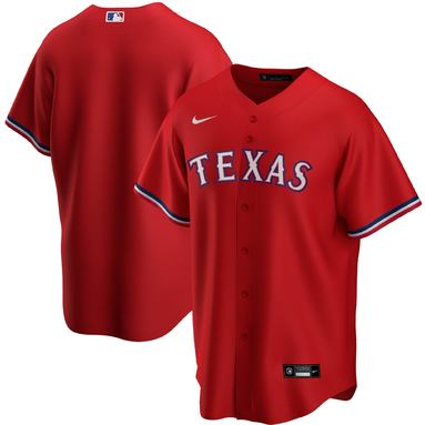 Texas Rangers Nike Alternate 2020 Replica Team Jersey – Red