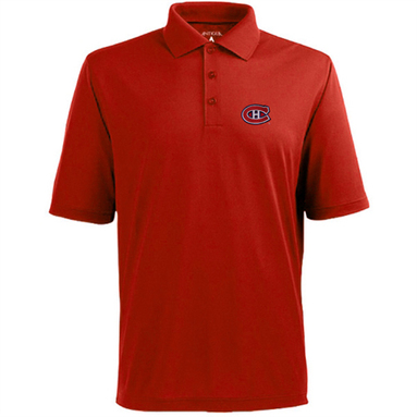 Montreal Canadiens Antigua Pique Xtra-Lite Polo - Red