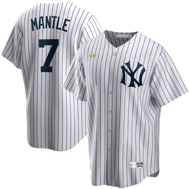 Mickey Mantle New York Yankees Nike Home Cooperstown Collection Player Jersey – White