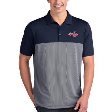 Washington Capitals Antigua Venture Polo - Navy/White
