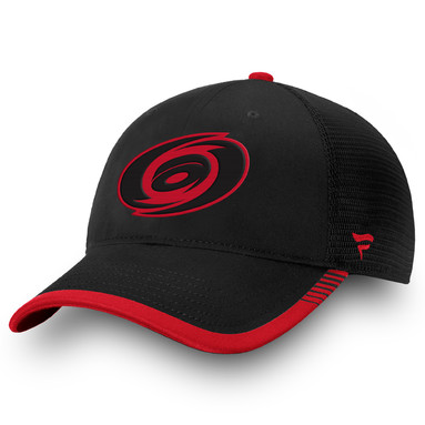 Carolina Hurricanes Fanatics Branded Iconic Team Pop Trucker Adjustable Snapback Hat - Black