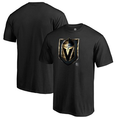 Vegas Golden Knights Fanatics Branded Midnight Mascot Big & Tall T-Shirt - Black