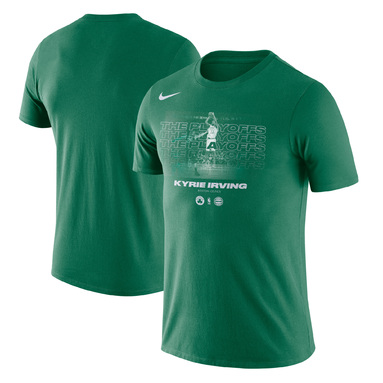 Kyrie Irving Boston Celtics Nike 2018 NBA Playoffs Player T-Shirt – Kelly Green
