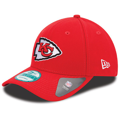 Kansas City Chiefs New Era The League 9FORTY Adjustable Hat - Red