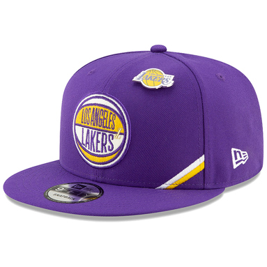 Los Angeles Lakers New Era 2019 NBA Draft 9FIFTY Snapback Adjustable Hat - Purple