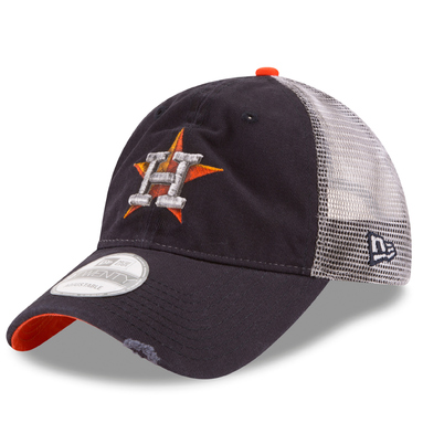Houston Astros New Era Team Rustic 9TWENTY Adjustable Hat - Navy