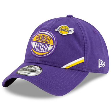 Los Angeles Lakers New Era 2019 NBA Draft 9TWENTY Adjustable Hat - Purple