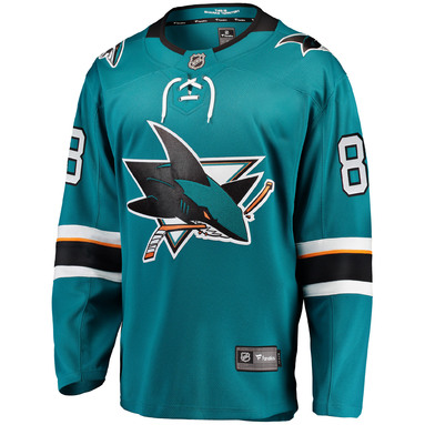 Brent Burns San Jose Sharks Fanatics Branded Youth Home Breakaway Player Jersey - Teal