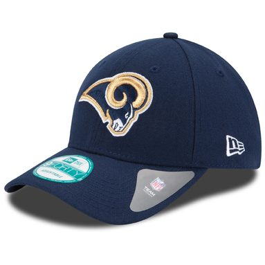 Los Angeles Rams New Era Youth League 9FORTY Adjustable Hat - Navy
