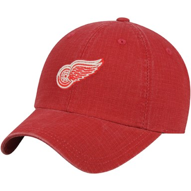 Detroit Red Wings American Needle Conway Ripstop Adjustable Hat - Red