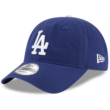Los Angeles Dodgers New Era Core Fit Replica 49FORTY Fitted Hat - Royal