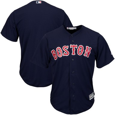 Boston Red Sox Majestic Big & Tall Cool Base Team Jersey - Navy