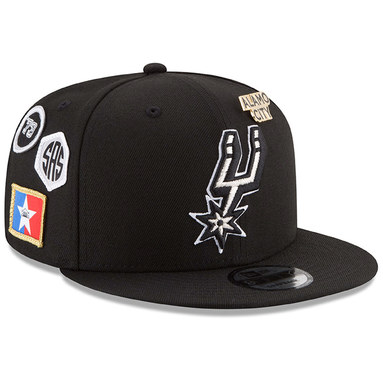 San Antonio Spurs New Era 2018 Draft 9FIFTY Adjustable Hat – Black