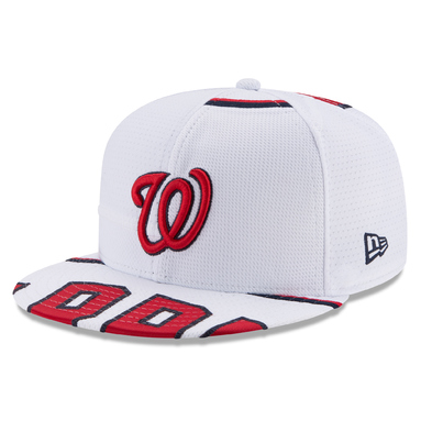 Bryce Harper Washington Nationals New Era Player Authentic Jersey V3 9FIFTY Snapback Adjustable Hat – White