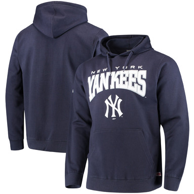 New York Yankees Stitches Team Pullover Hoodie – Navy