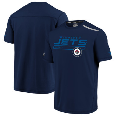 Winnipeg Jets Fanatics Branded Authentic Pro Clutch T-Shirt - Navy