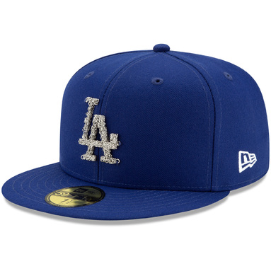Los Angeles Dodgers New Era Metal Melt 59FIFTY Fitted Hat - Royal