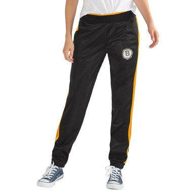Boston Bruins G-III 4Her by Carl Banks Women's Progression Track Pants - Black